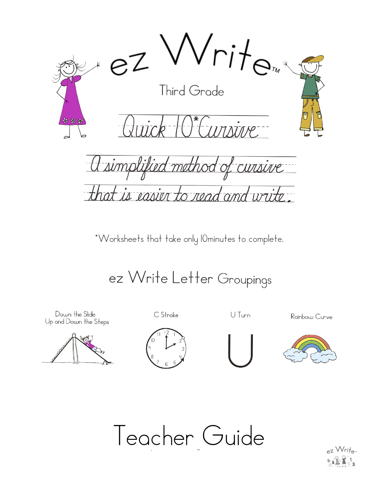 Third Grade  Ez Write