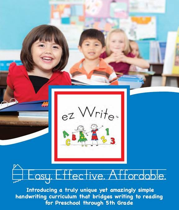 ez Write introduces expanded 8-page brochure